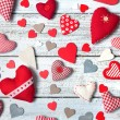 Hearts background — Stock Photo #67646273