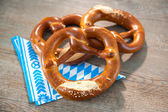Bavarian Pretzels — Stock Photo