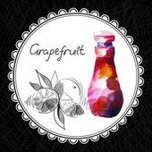 Grapefruit — Stock Vector