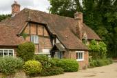 Wattle cottage, Whitchurch on Thames — Stock Photo
