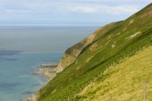 Exmoor coastline near Lynmouth , Devon — Stockfoto