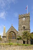 Lynton church , Devon — Stockfoto
