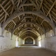 Medieval barn interior, Bradford on Avon — Stock Photo #55074061