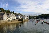Harbour view, Fowey, Cornwall — Stock Photo