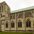Cathedral arched windows, Chichester — Stock Photo #62693503