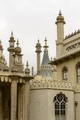 Chimneys and pinnacles at Royal Pavillon, Brighton — Stock Photo