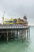 Funfair on the Pier, Brighton — Foto Stock
