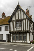 Medieval wattle building at Hastings — Stock Photo