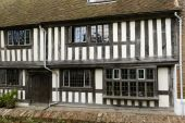 Medieval wattle house at Rye — Stock Photo