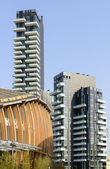 New buildings at business hub, Milan — Stock Photo