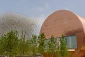 Hungarian  pavilion, EXPO 2015 Milan — Stockfoto