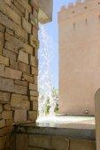 Waterfall at Oman pavillon, EXPO 2015 Milan — Stock Photo