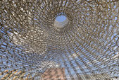 Inside of structure at Great Britain pavillon , EXPO 2015 Milan — Stock Photo