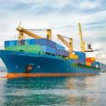 Merchant container ship — Stock Photo #64997535