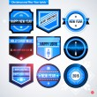 Set of labels and badges — Stock Vector #67347051