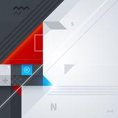 Фон с геометрическими фигурами — Cтоковый вектор