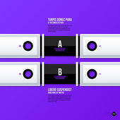 Banners template for web design — Vector de stock