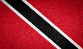 Trinidad and Tobago flag on paper background — Stock Photo