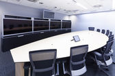 Teleconferencing, video conference and telepresence business mee — 图库照片