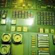 Control room of an old power generation plant — Stock Photo #57349239