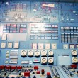 Control room of an old power generation plant — Stock Photo #62323049