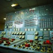 Control room of an old power generation plant — Stock Photo #72143281