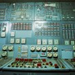 Control room of an old power generation plant — Stock Photo #73285337