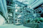 Piping at power plant — Stock Photo
