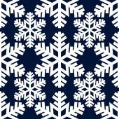 Decorative abstract snowflake. Seamless — Stockvector