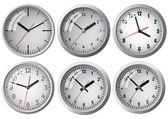 Wiszący zegar cyfrowy. — Wektor stockowy