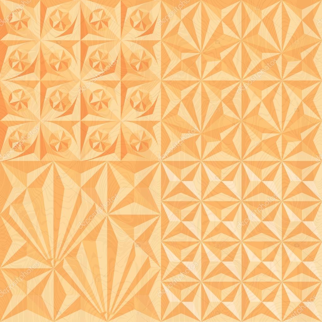 Геометрическая резьба по дереву — Векторное изображение ...: http://ru.depositphotos.com/63963181/stock-illustration-geometric-wood-carving.html