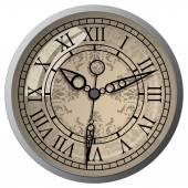 Classic Antique clock — Stock Vector