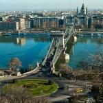Chain Bridge of Budapest — Stock Photo #64454533