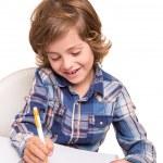 Student writting — Stock Photo #52994177