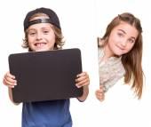 Kids posing — Stock Photo