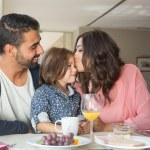 Family having breakfast — Stock Photo #55321215