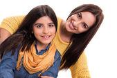 Mulher e menina — Fotografia Stock