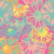 Bright floral seamless pattern — Stock Vector #52164217