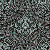 Hand drawn  seamless lace background in ethnic style — Vecteur