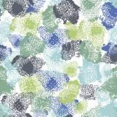 Hand painted textured abstract  shabby  fresh seamless pattern  — Stok Vektör