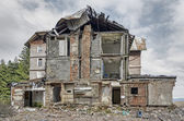 Ruined old building — Stock Photo