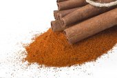 Cinnamon powder — Stock Photo
