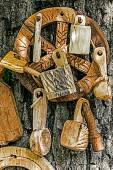 Romanian traditional objects of wood 2 — Stock Photo