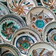 Romanian traditional ceramic plates 2 — Stock Photo #54277151