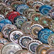 Romanian traditional ceramic plates 1 — Stock Photo #54277153