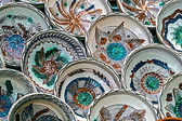 Romanian traditional ceramic plates 2 — Stockfoto