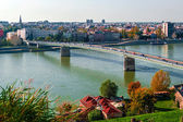 Cityscape in Novi Sad, Serbia 2 — Stock Photo