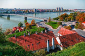 Cityscape in Novi Sad, Serbia 1 — Stock Photo