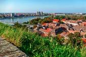 Cityscape in Novi Sad, Serbia — Stock Photo
