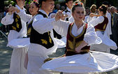 Serbian Dance — Stock Photo